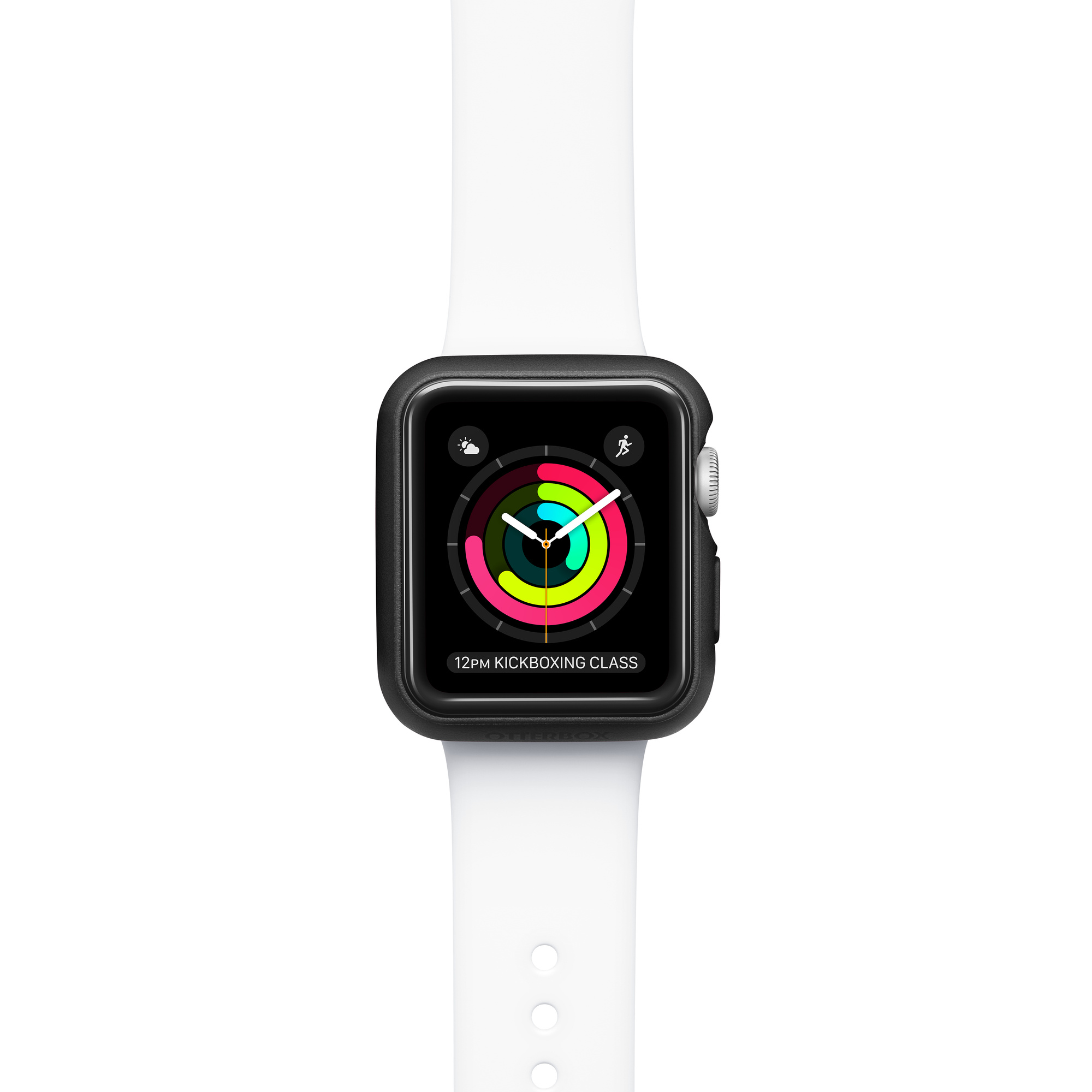 OtterBox Exo Edge Case for Apple Watch Series 3 38mm - Black - Apple