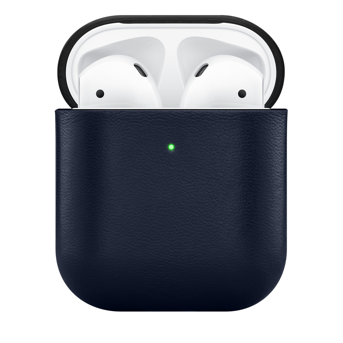 Native Union Leather Case For Airpods Navy Apple