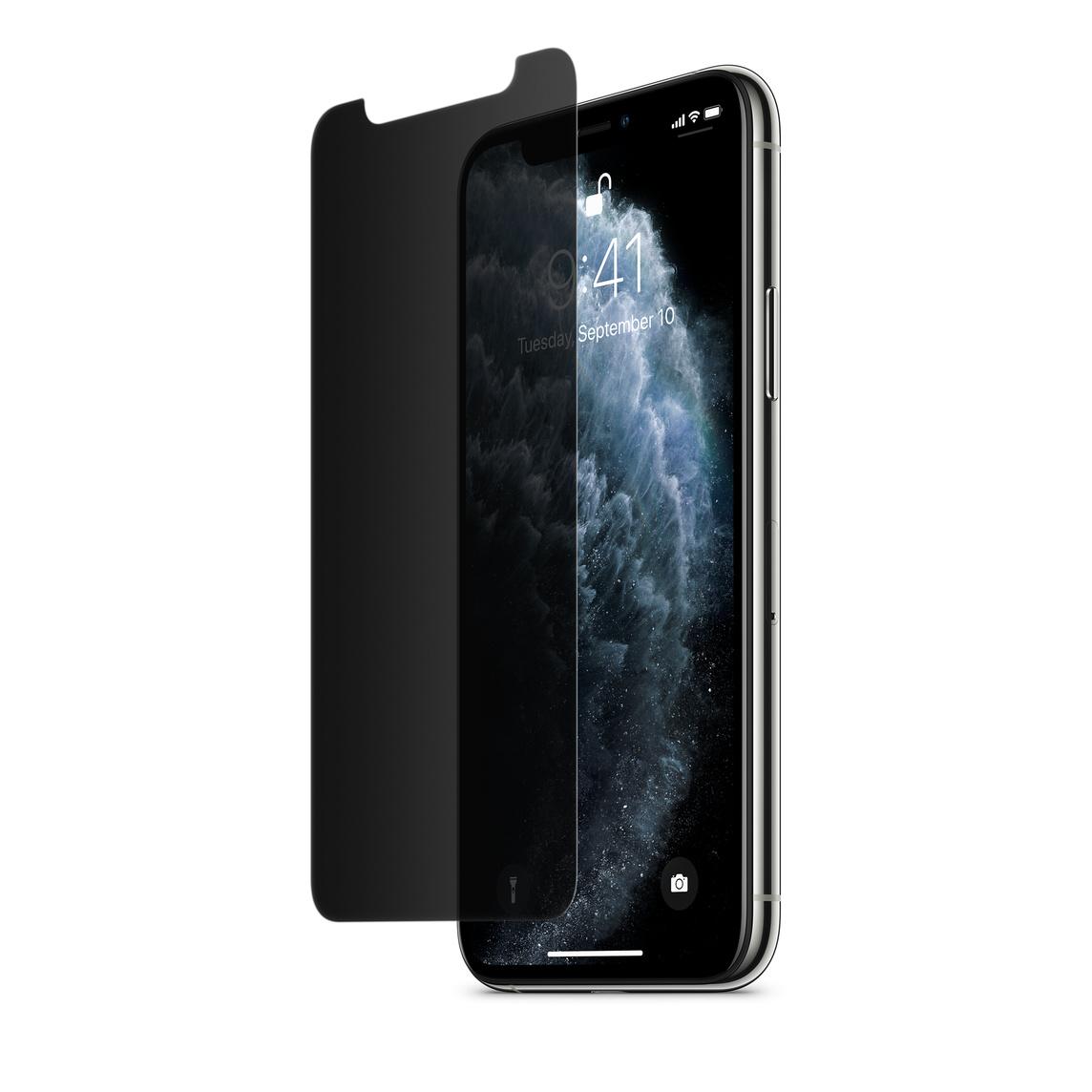 Protecteur d'écran InvisiGlass Ultra Privacy de Belkin pour iPhone 11 Pro / XS / X
