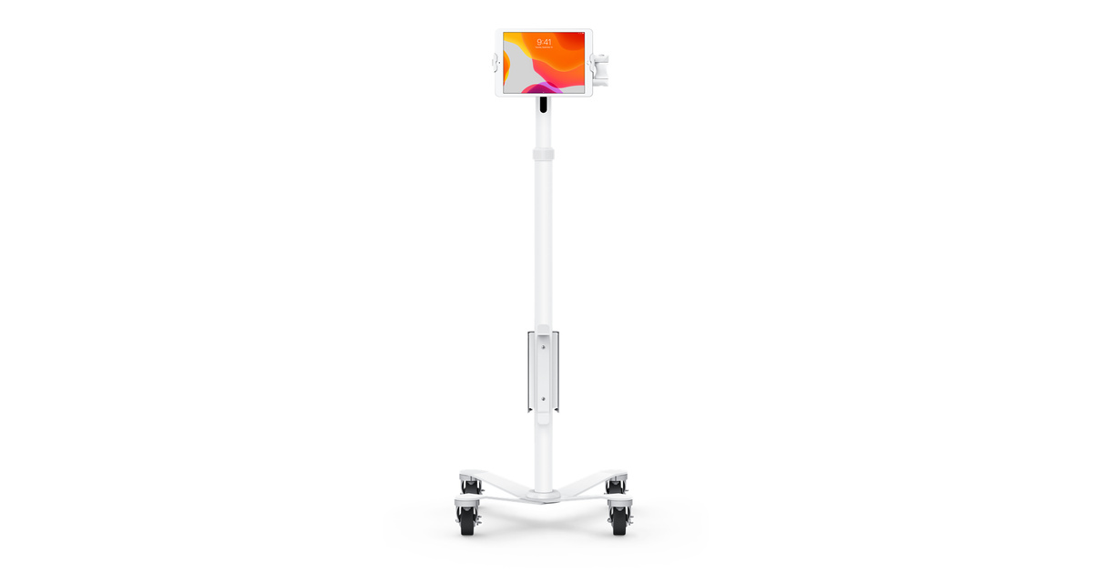 Compulocks Ipad Rolling Stand With Articulating Arm