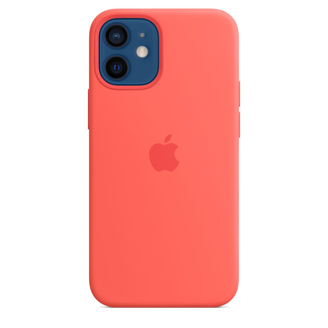 iPhone 12 mini Silicone Case with MagSafe - Pink Citrus ...