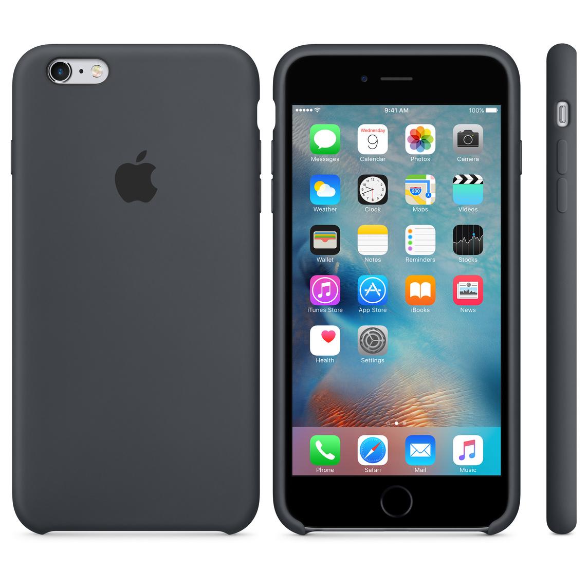 best website ba511 1cf2c iPhone 6 Plus / 6s Plus Silicone Case - Charcoal Gray