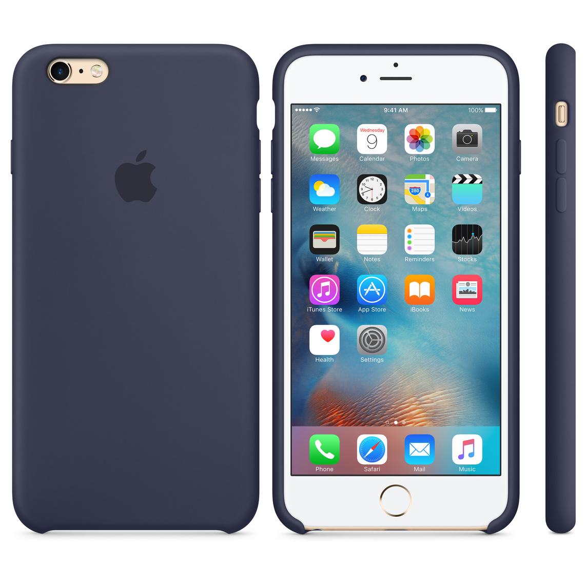 in vendita a1431 39e4f iPhone 6 Plus / 6s Plus Silicone Case - Midnight Blue