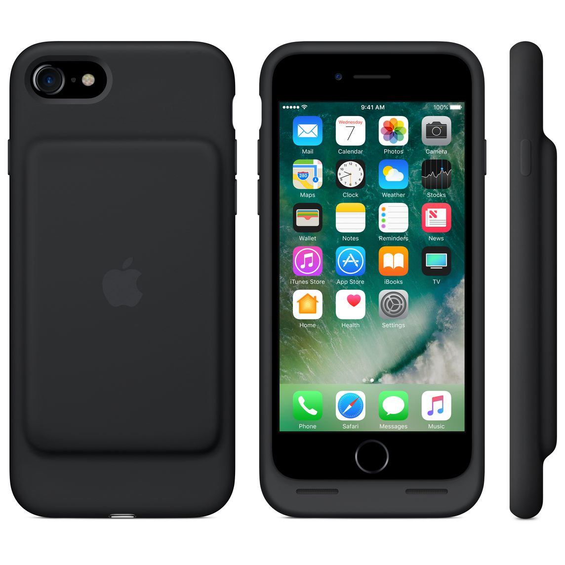 Iphone 7 Smart Battery Case Black Apple