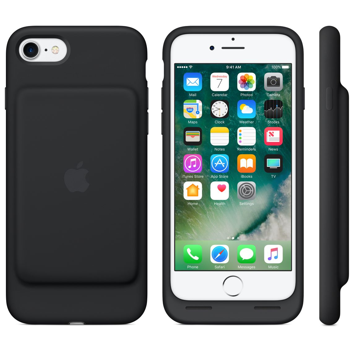 iPhone 7 Smart Battery Case Black