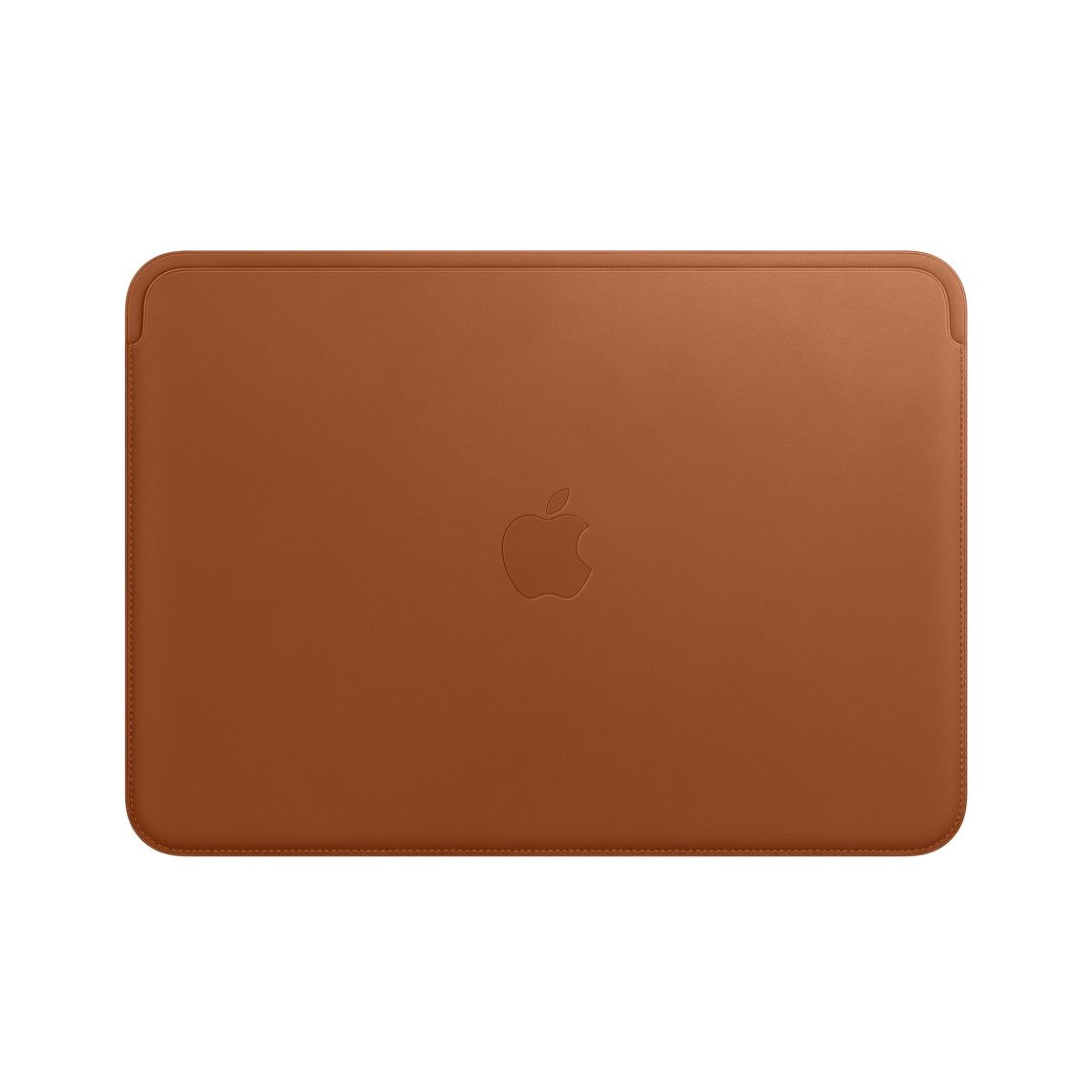 Leather Sleeve for 1‑inch MacBook - Saddle Brown
