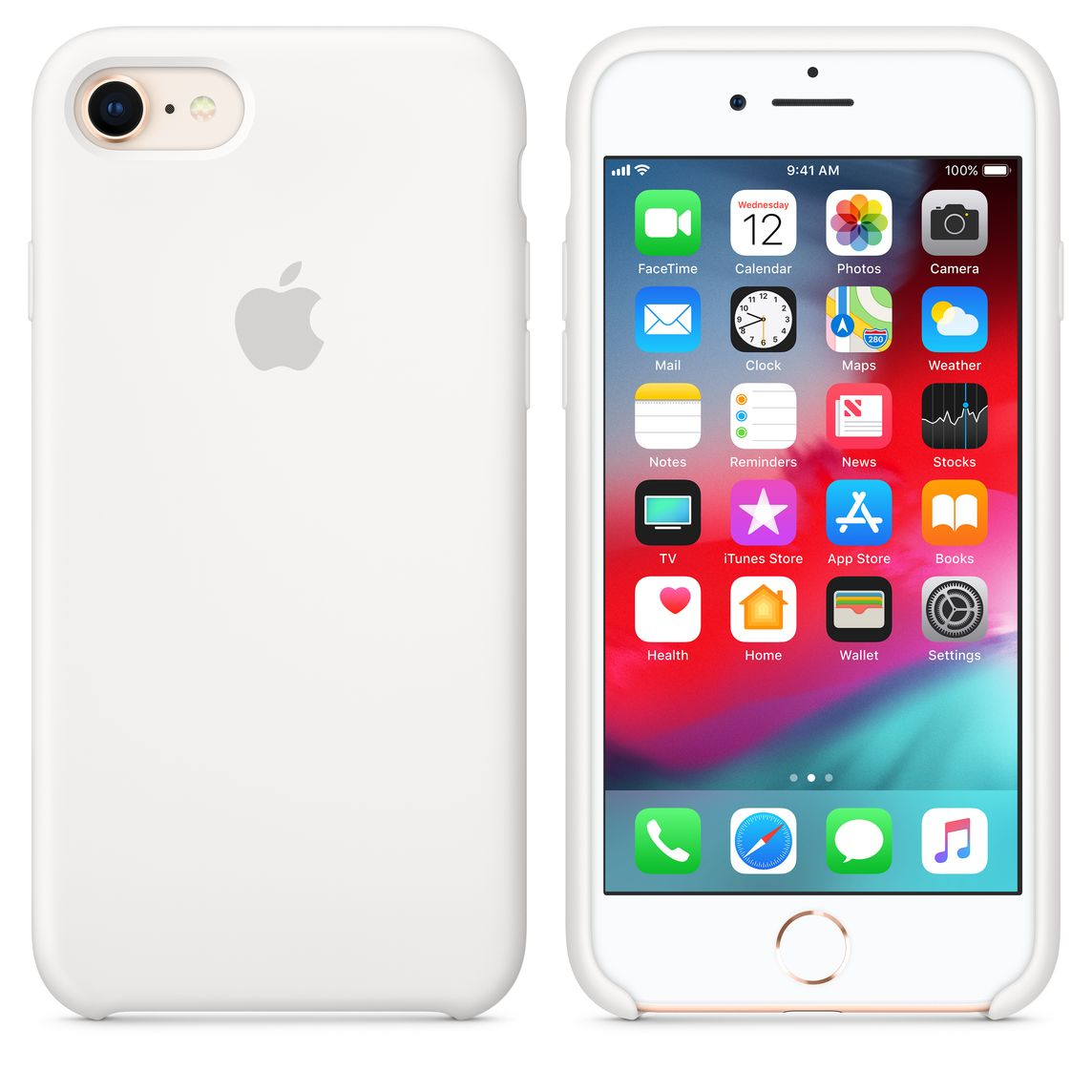 apple silicon case iphone 8