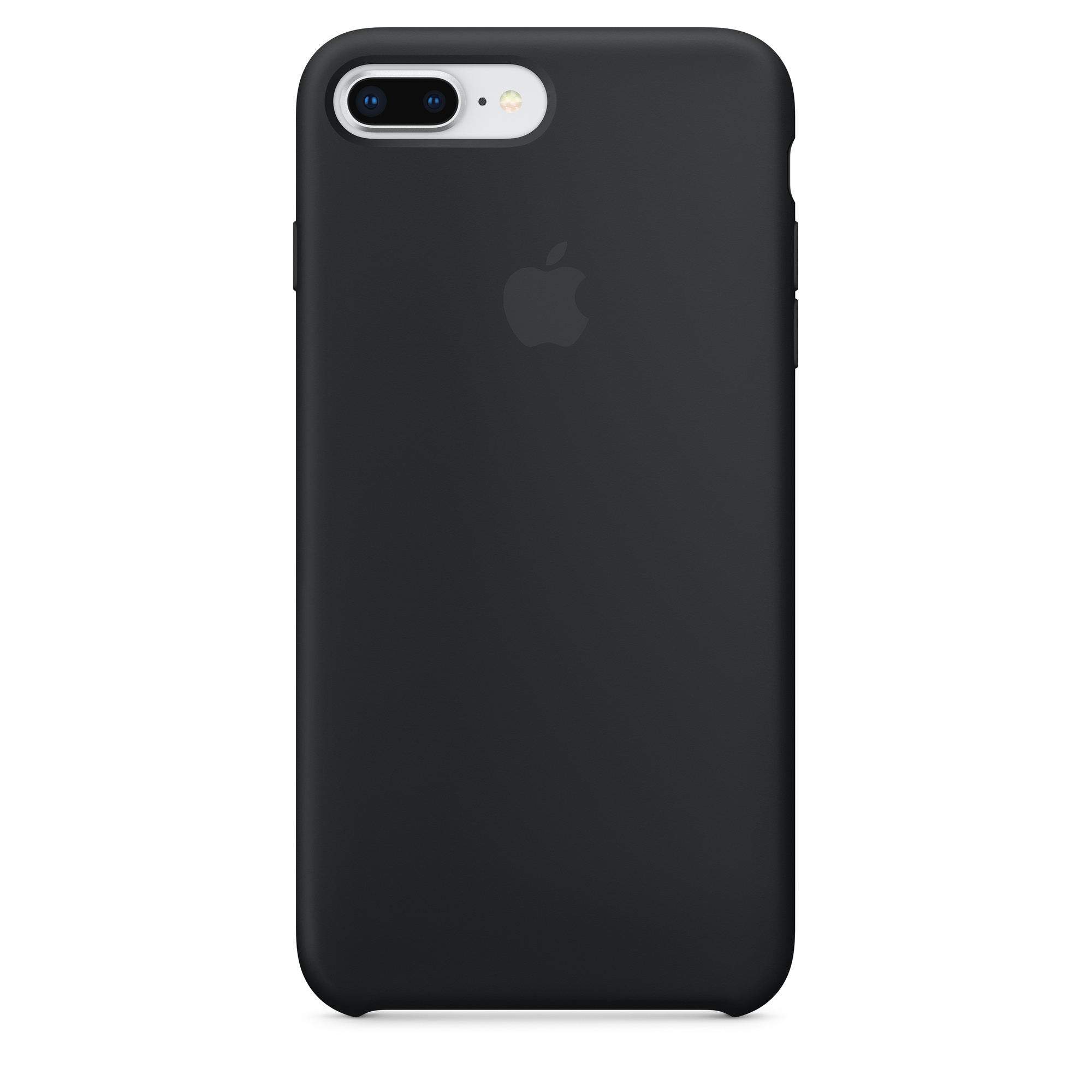 new product 04642 f0cc8 iPhone 8 Plus / 7 Plus Silicone Case - Black