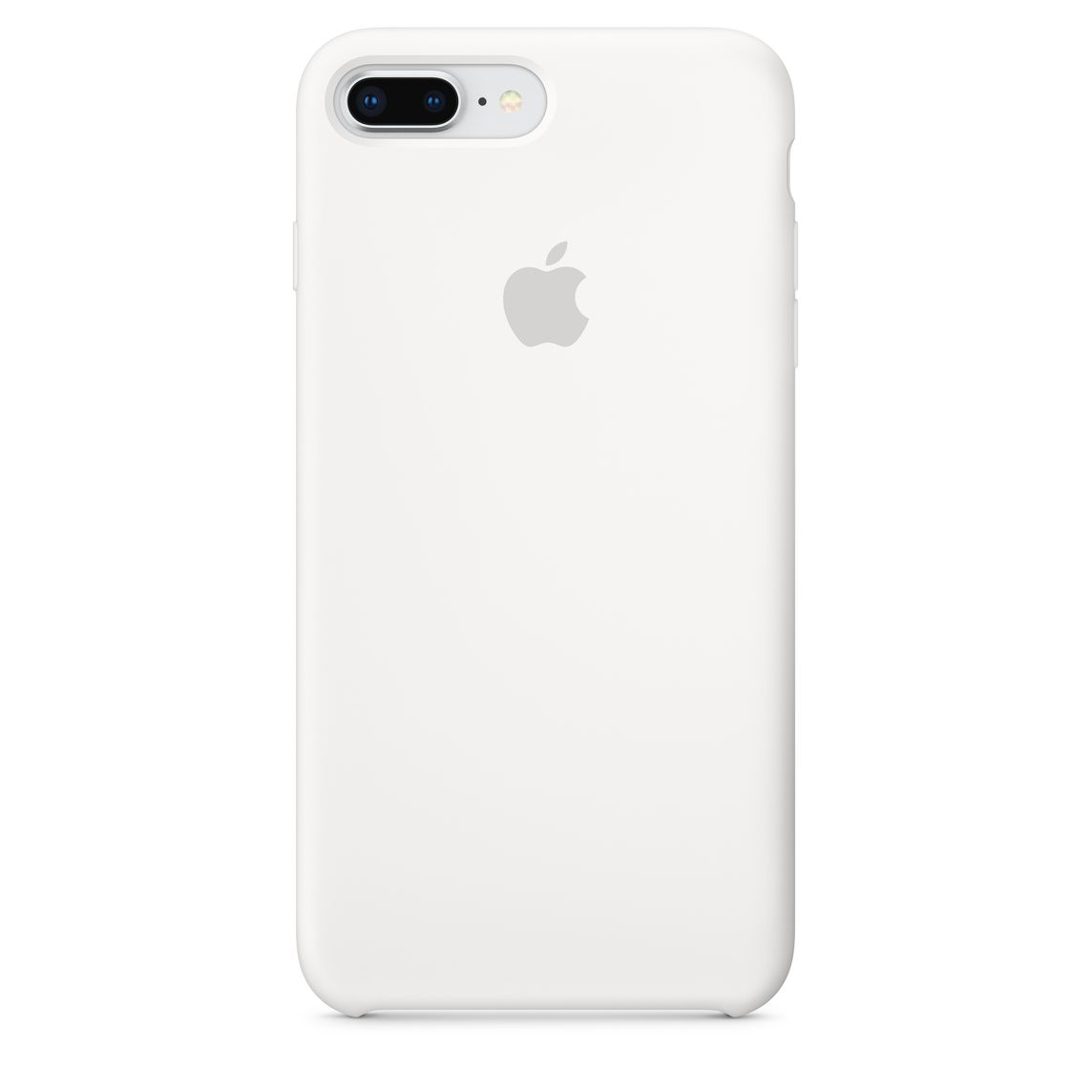 new products 82744 1b4df iPhone 8 Plus / 7 Plus Silicone Case - White