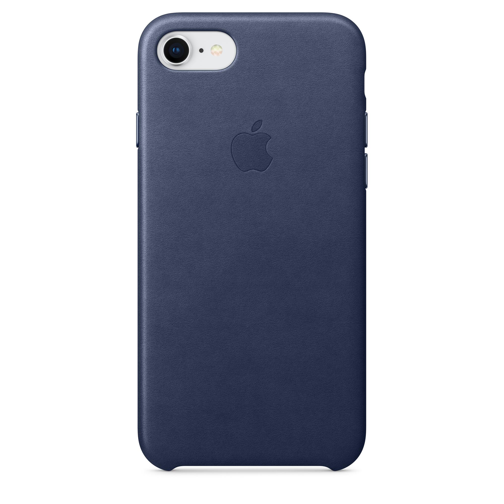 san francisco 09e8e 49e50 iPhone 8 / 7 Leather Case - Midnight Blue