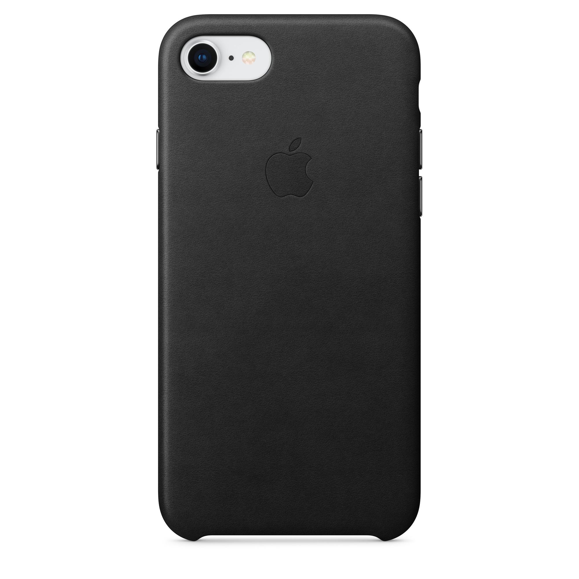 release date: c59d4 77445 iPhone 8 / 7 Leather Case - Black