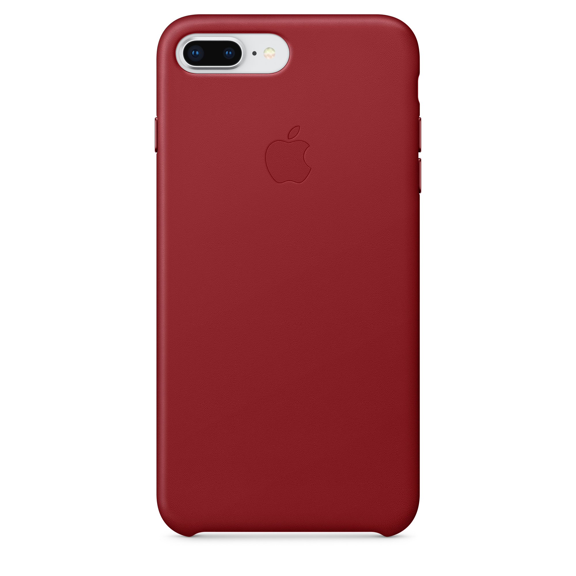 designer fashion e7d69 78304 iPhone 8 Plus / 7 Plus Leather Case - (PRODUCT)RED