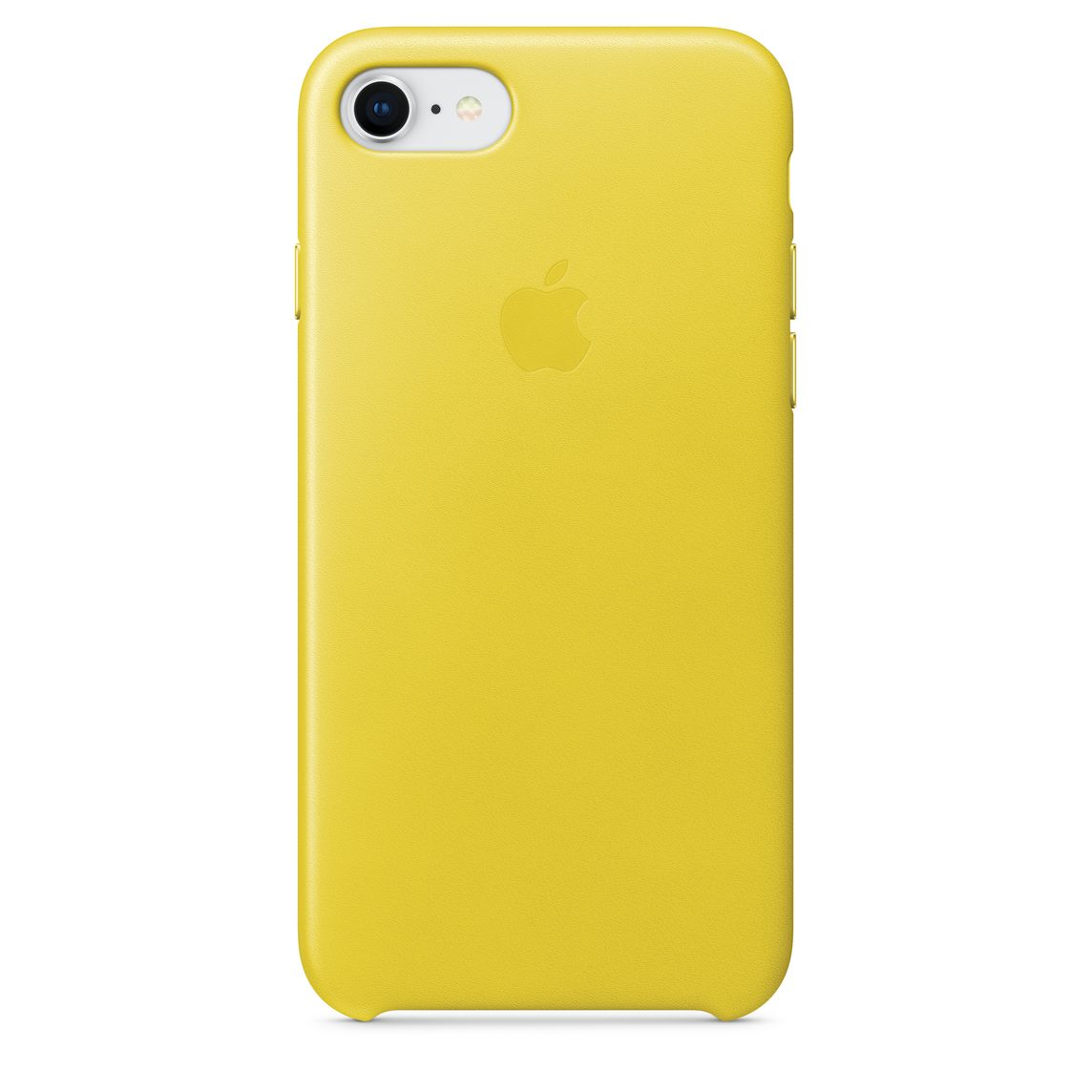 caecae35c7ca5 iPhone 8 / 7 Leather Case - Spring Yellow - Apple