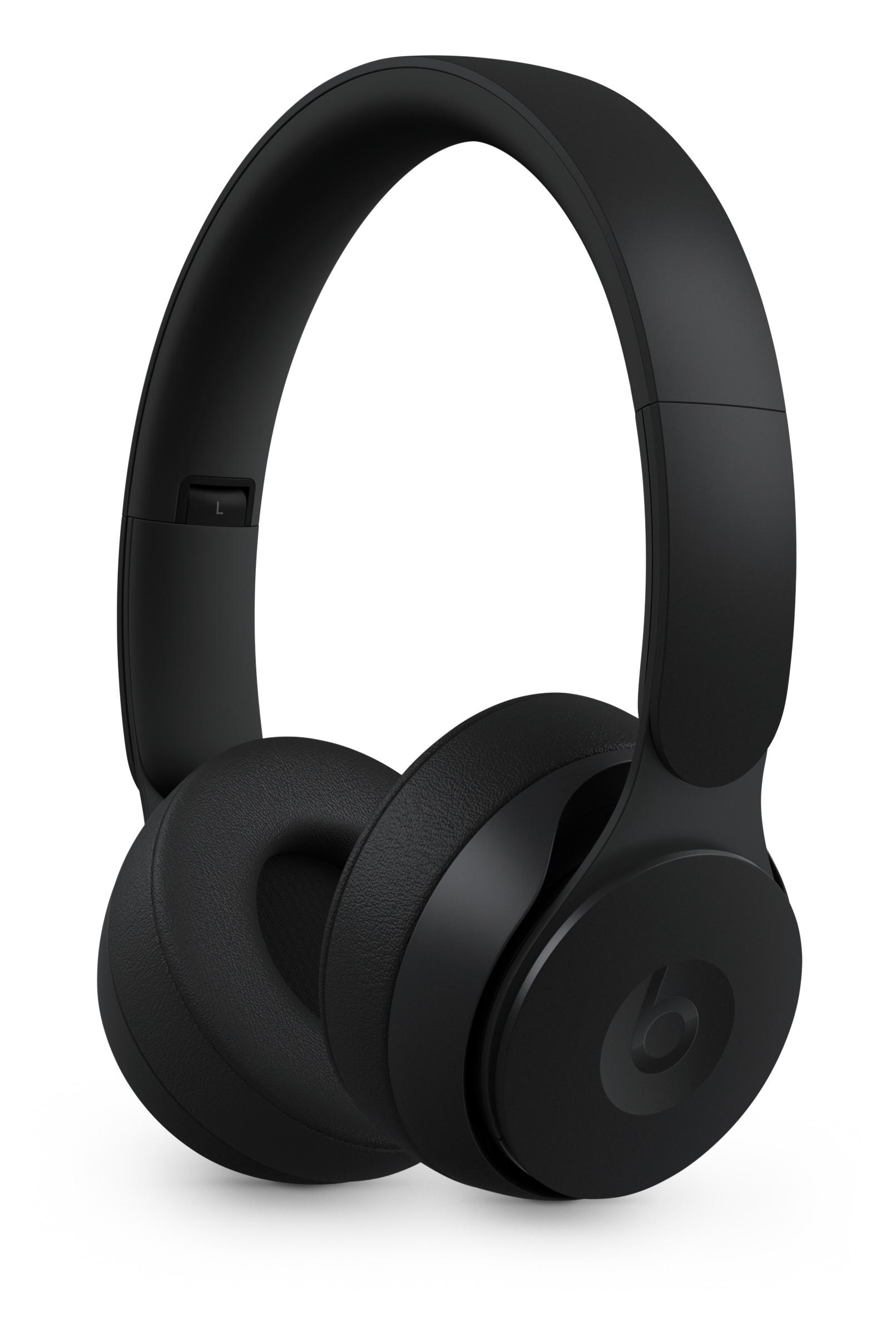 Beats Solo Pro Wireless Noise Cancelling Headphones Black Apple