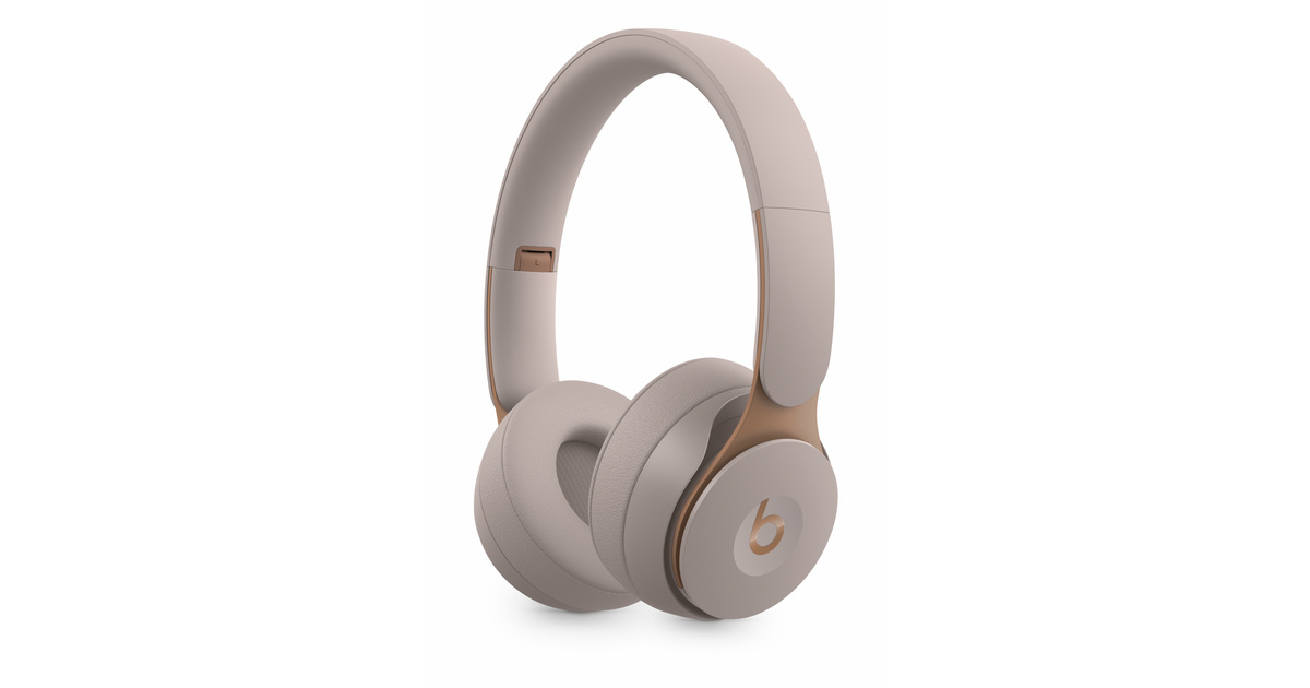 Beats Solo Pro Wireless Noise Cancelling Headphones   Gray by Apple