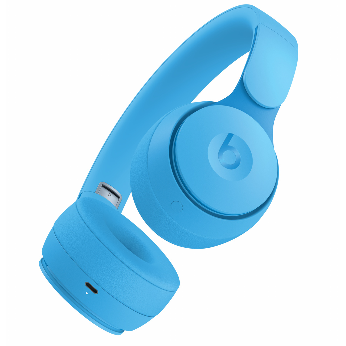 Beats Solo Pro Wireless Noise Cancelling Headphones More Matte Collection Light Blue Apple