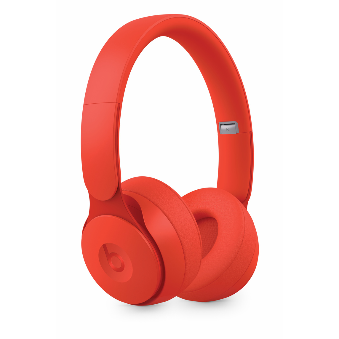 Beats Solo Pro Wireless Noise Cancelling Headphones More Matte Collection Red Apple