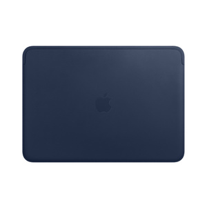 MacBook leather sleeve  Laptop sleeve from premium dark blue leather  MacBook pro leather cover  MacBook air case  Apple accessories