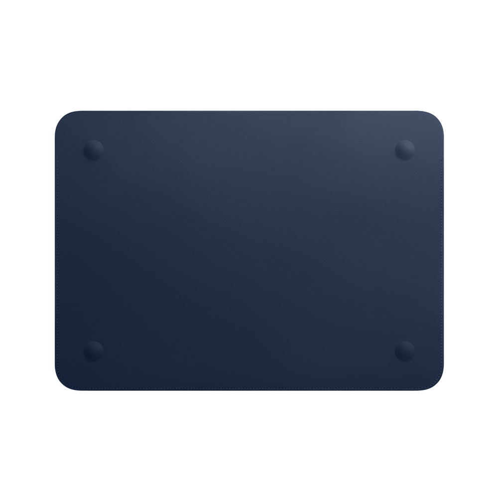 Leather Sleeve for 13-inch MacBook Air and MacBook Pro - Midnight Blue