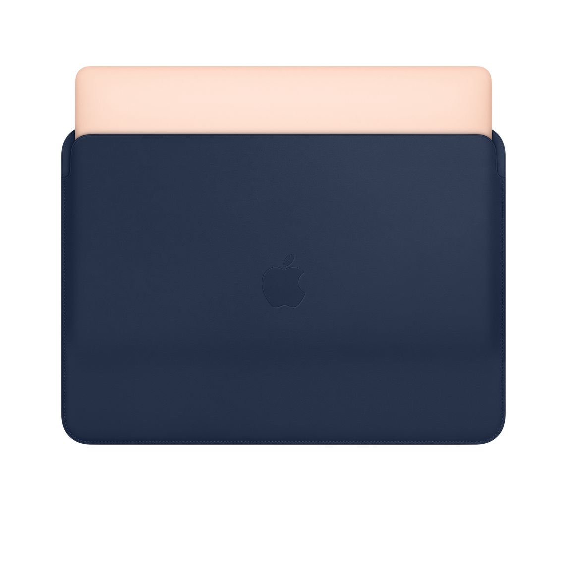 cheap for discount 6bf38 cb37a Leather Sleeve for 13-inch MacBook Air and MacBook Pro - Midnight Blue
