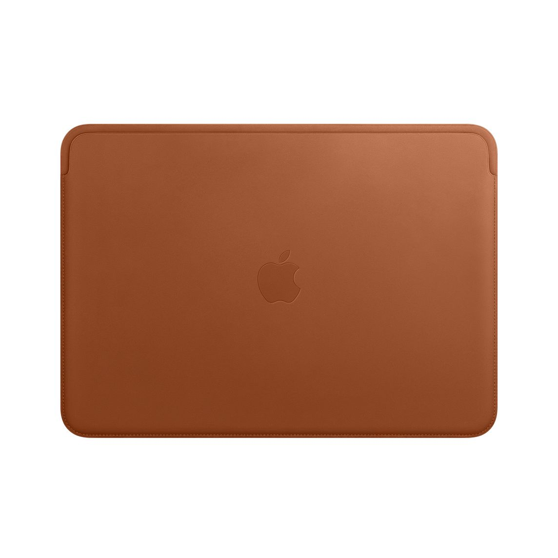 new product 580bd a5936 Leather Sleeve for 13-inch MacBook Air and MacBook Pro - Saddle Brown