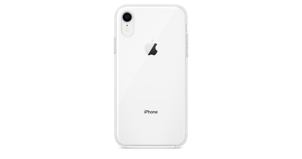 Étui pour iPhone XR - Transparent