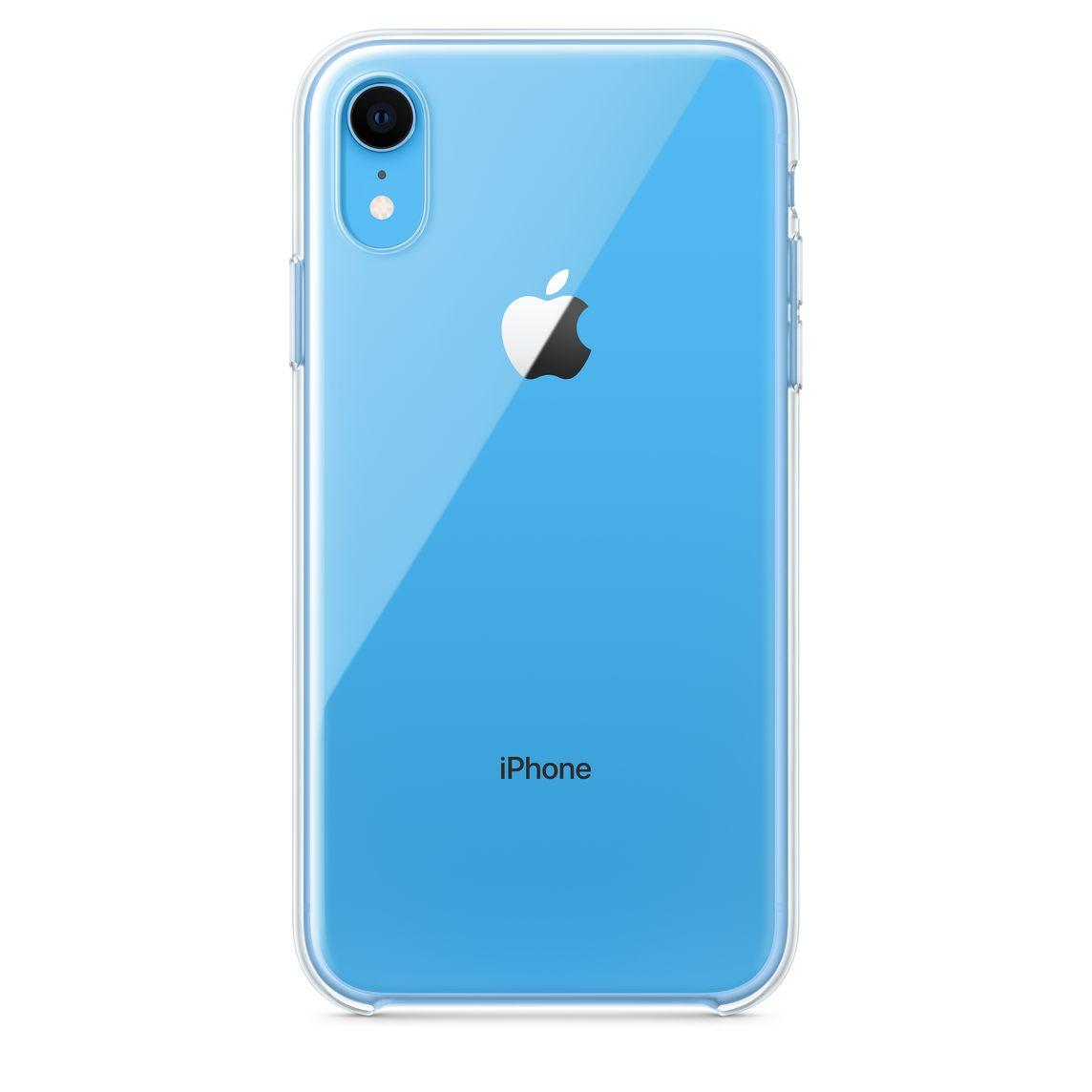 Étui transparent pour iPhone XR