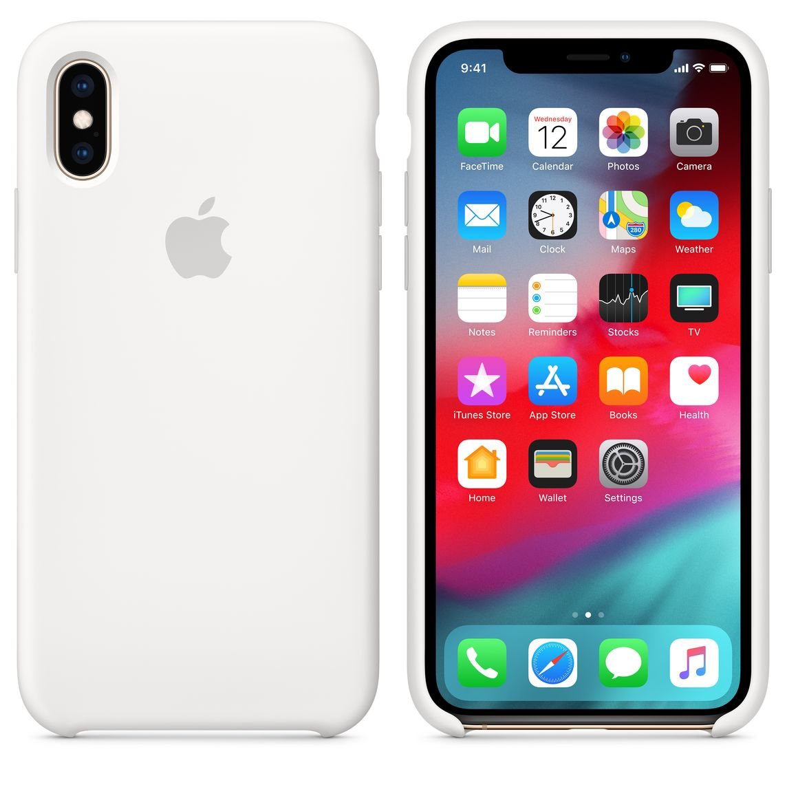 coloured iphone xs case