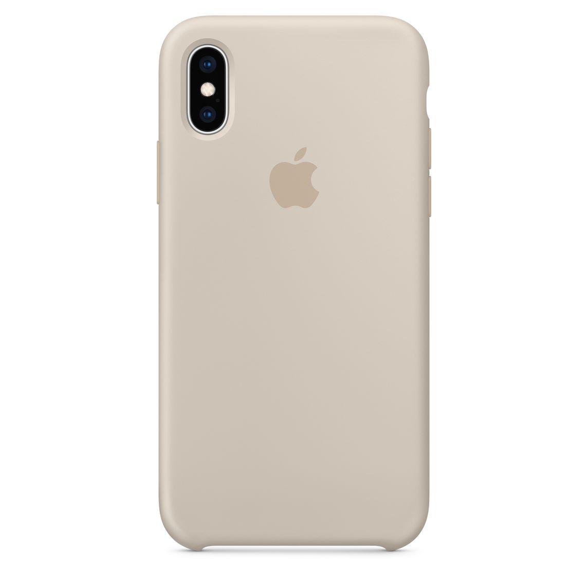 buy online c893c 4ac81 iPhone XS Silicone Case - Stone