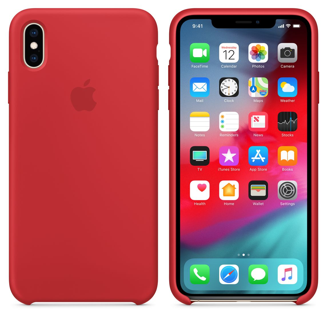 red case iphone xs max
