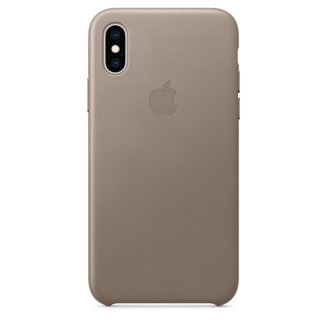 size 40 db81d 3979e iPhone XS Leather Case - Taupe