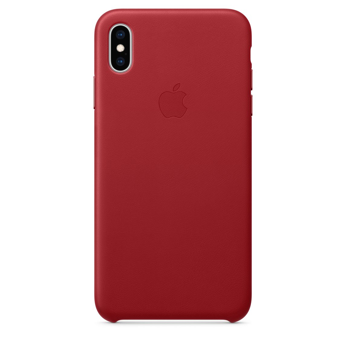 huge discount a42ad ae0c3 iPhone XS Max Leather Case - (PRODUCT)RED