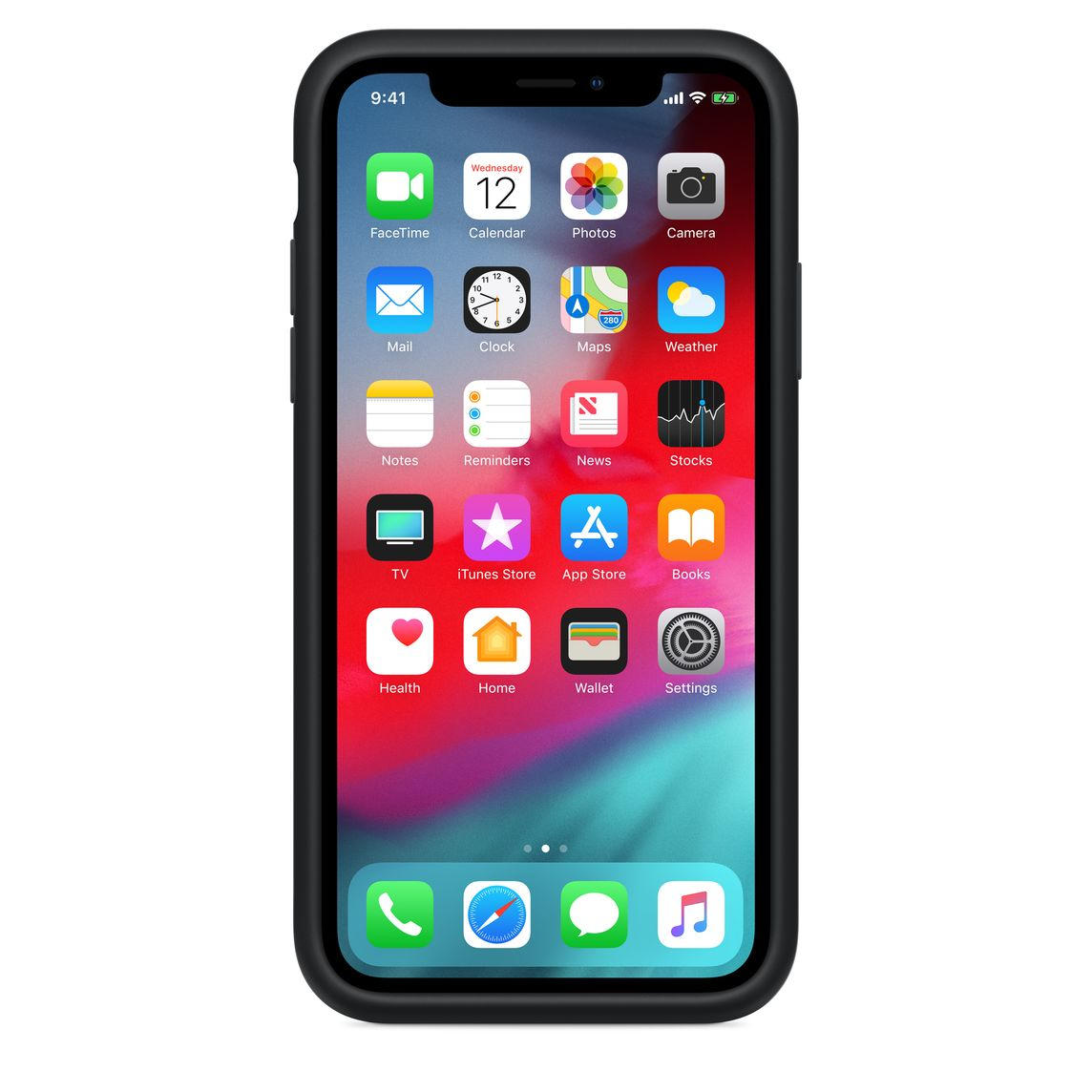 pretty nice 9fea3 1c512 iPhone XS Smart Battery Case - Black