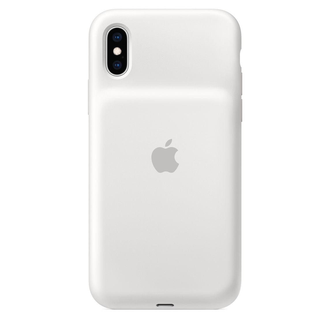 best website c9c92 63444 iPhone XS Smart Battery Case - White