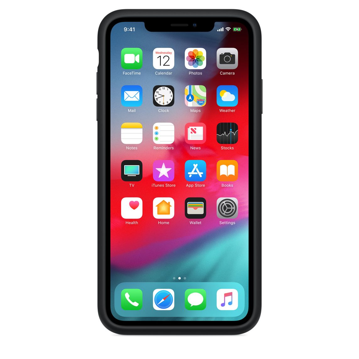 timeless design 3186c ac324 iPhone XS Max Smart Battery Case - Black