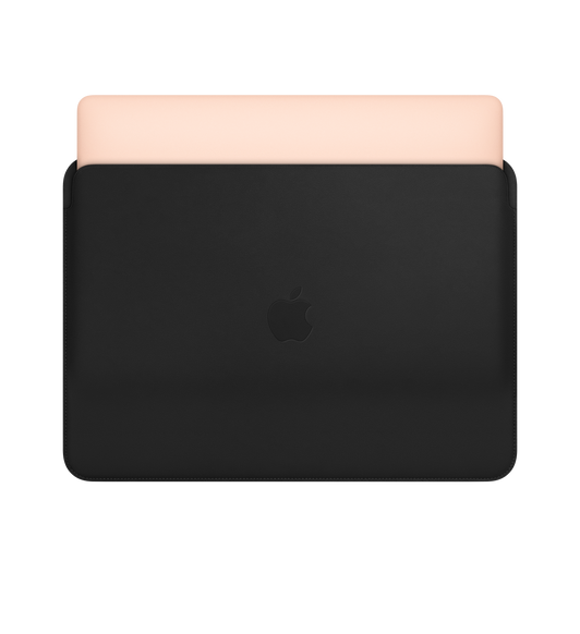 Leather Sleeve for 13-inch MacBook Air and MacBook Pro - Black