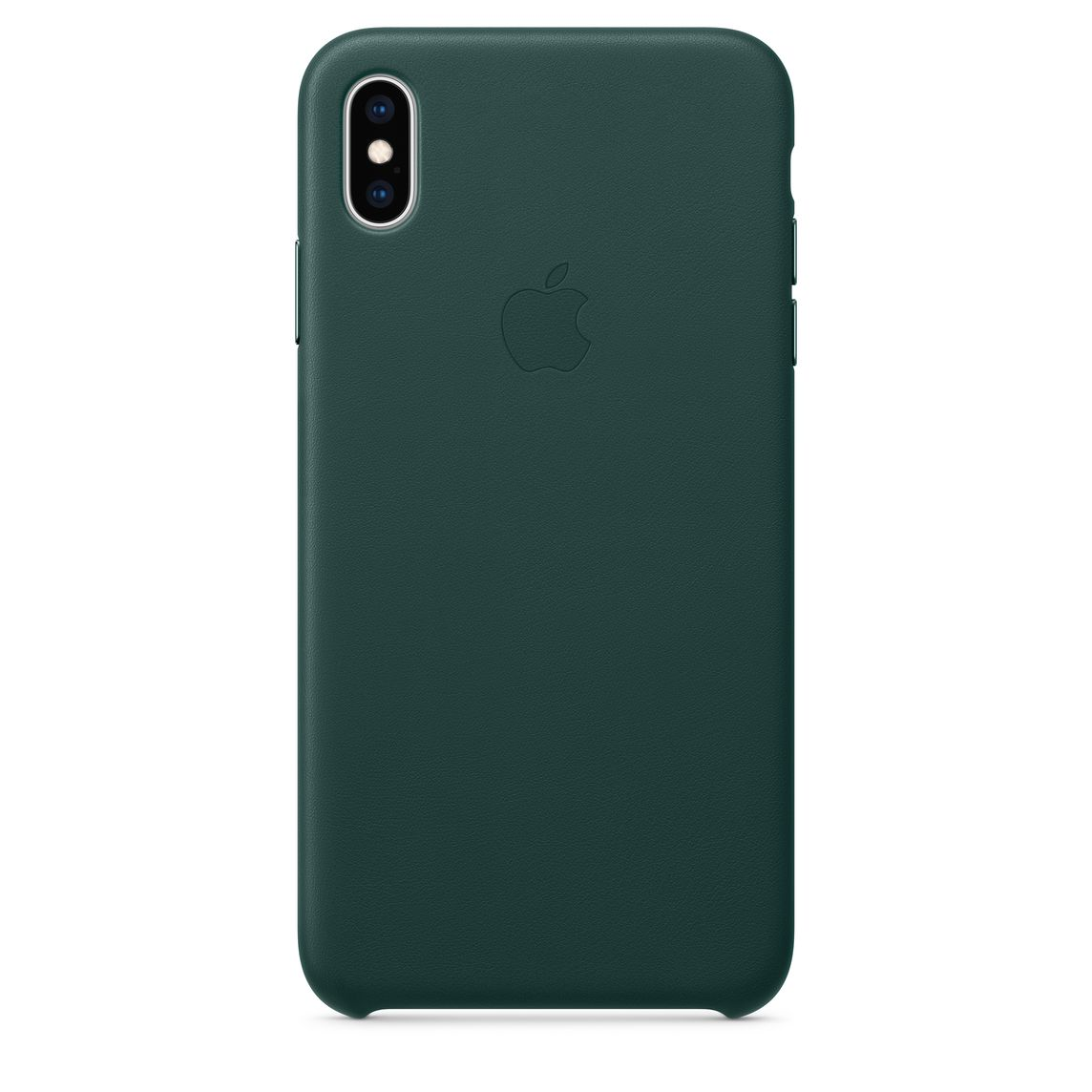 sports shoes c9fb3 83205 iPhone XS Max Leather Case - Forest Green