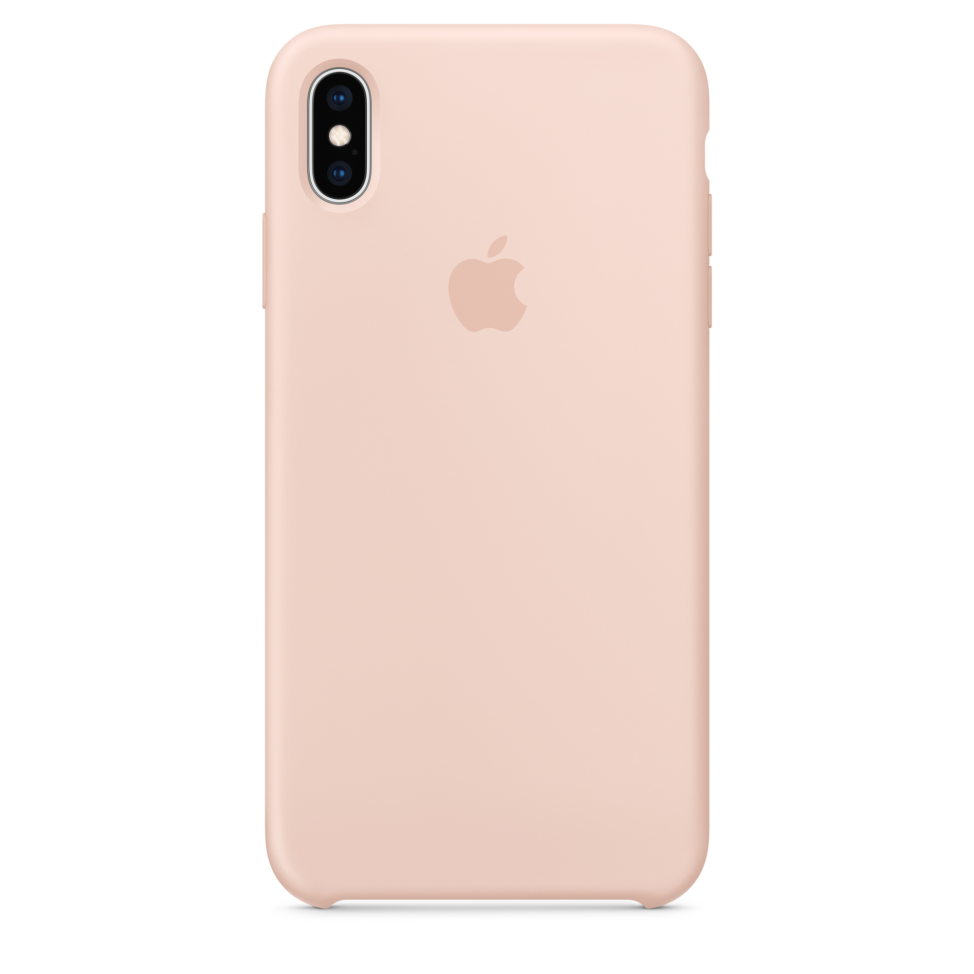 size 40 2cd19 2b4f6 iPhone XS Max Silicone Case - Pink Sand