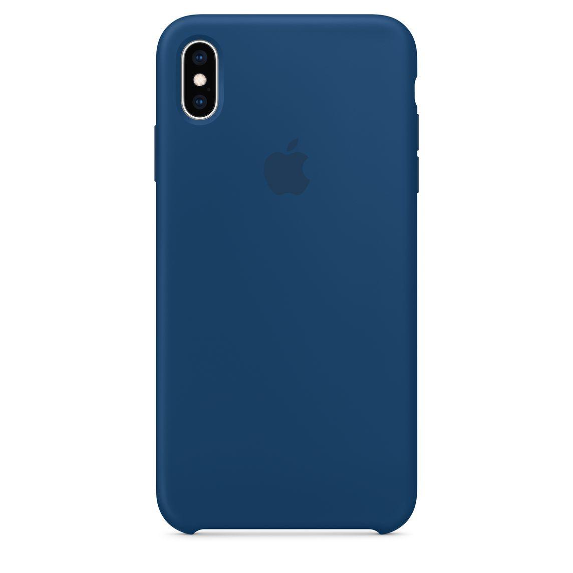 new concept 9047d d7603 iPhone XS Max Silicone Case - Blue Horizon
