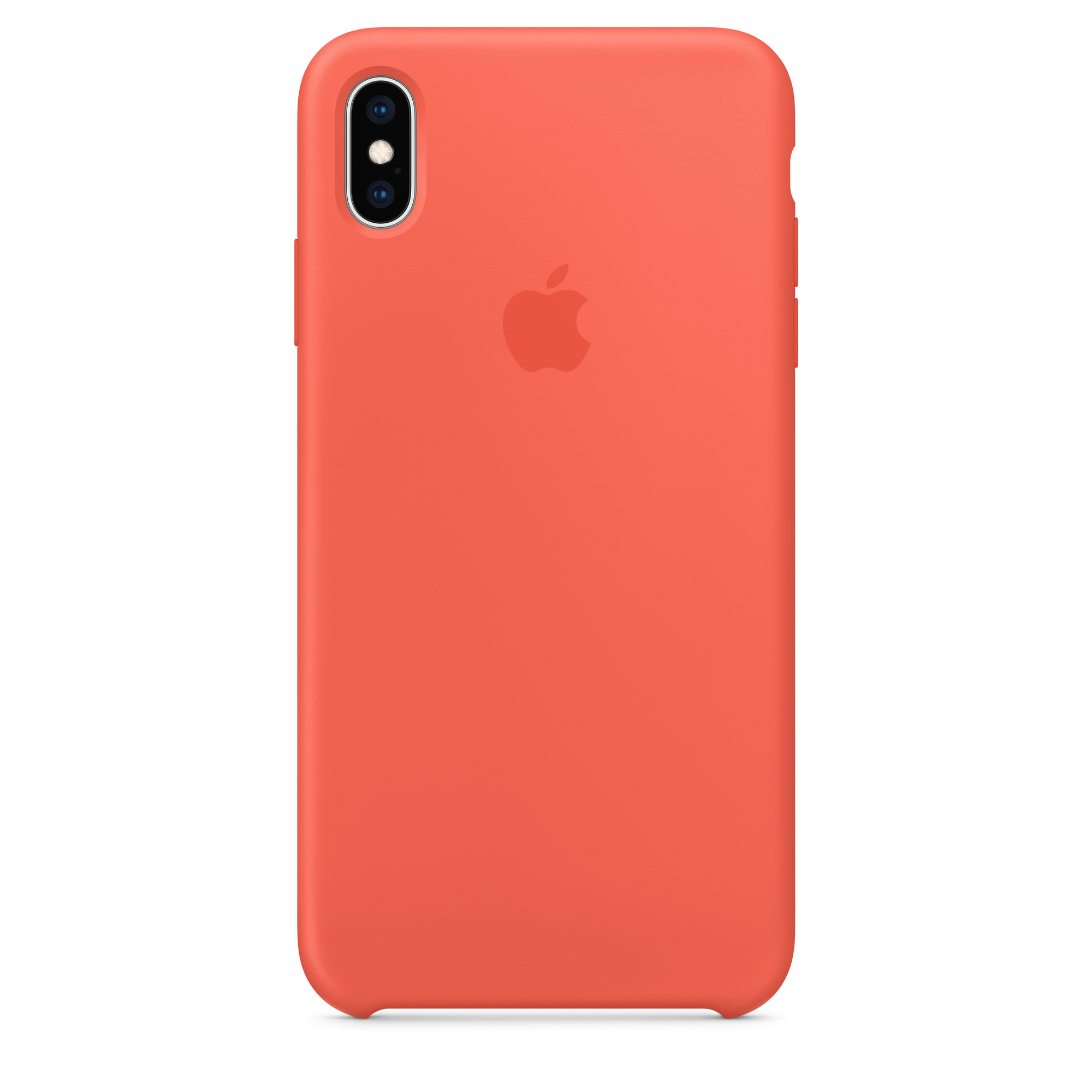 check out 826d5 9708d iPhone XS Max Silicone Case - Nectarine