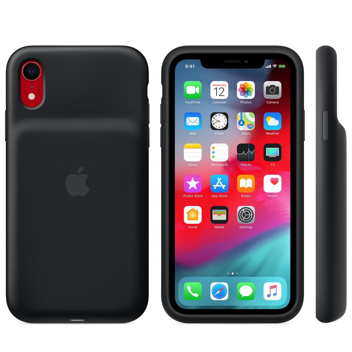 Étui Smart Battery Case pour iPhone XR - Noir