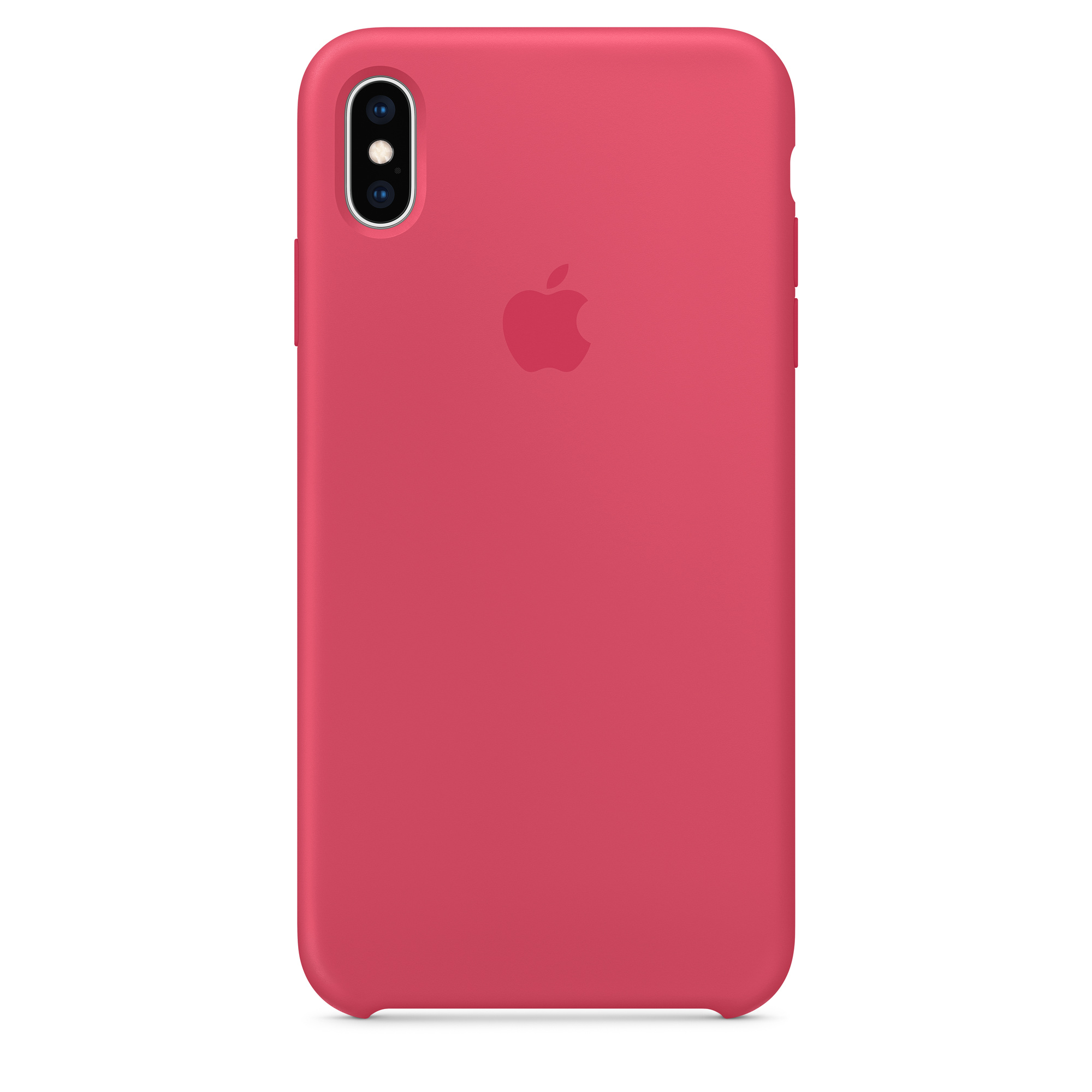 premium selection 3be71 4c7a9 iPhone XS Max Silicone Case - Hibiscus