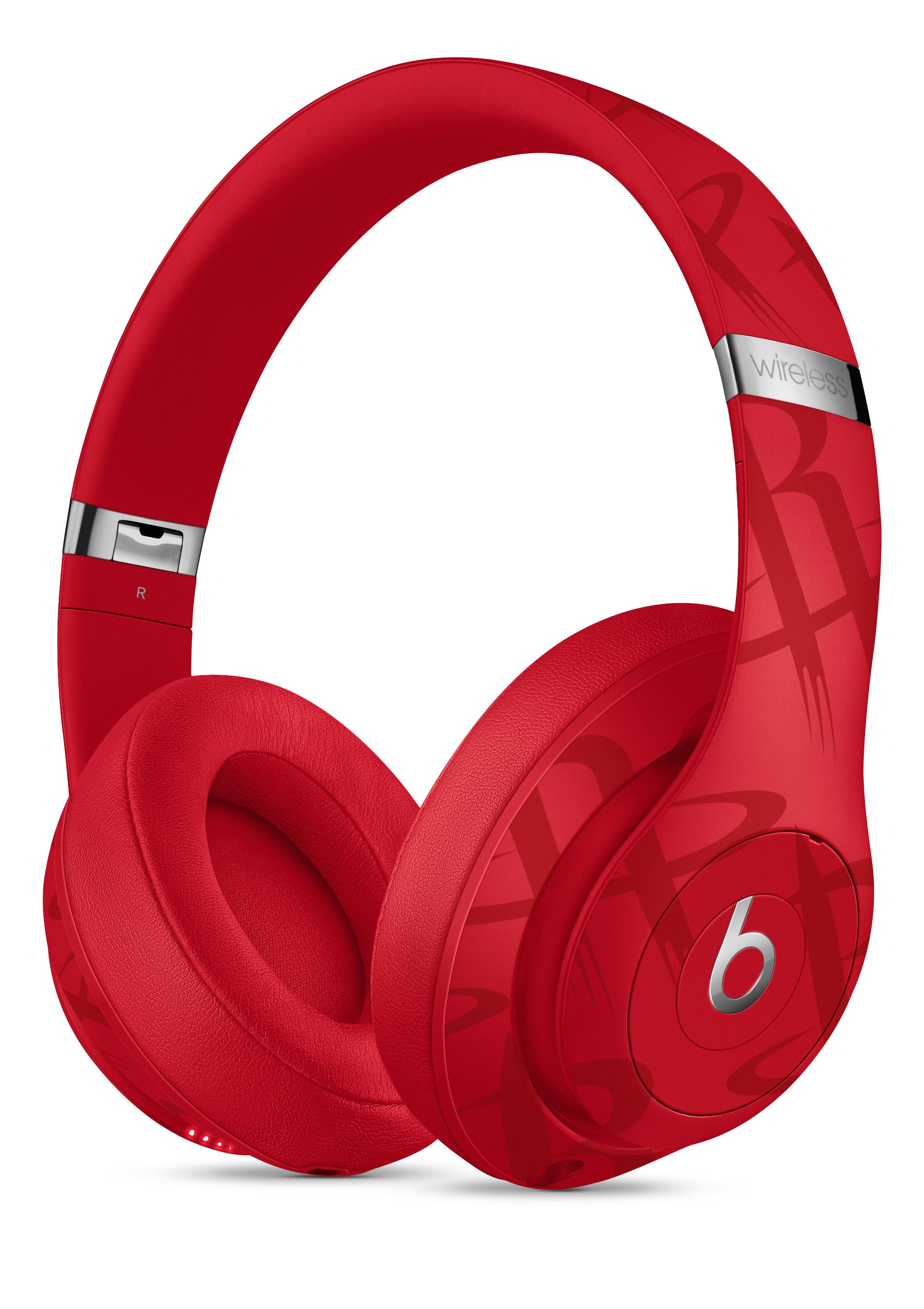 Beats Studio3 Wireless Headphones Nba Collection Rockets Red Education Apple