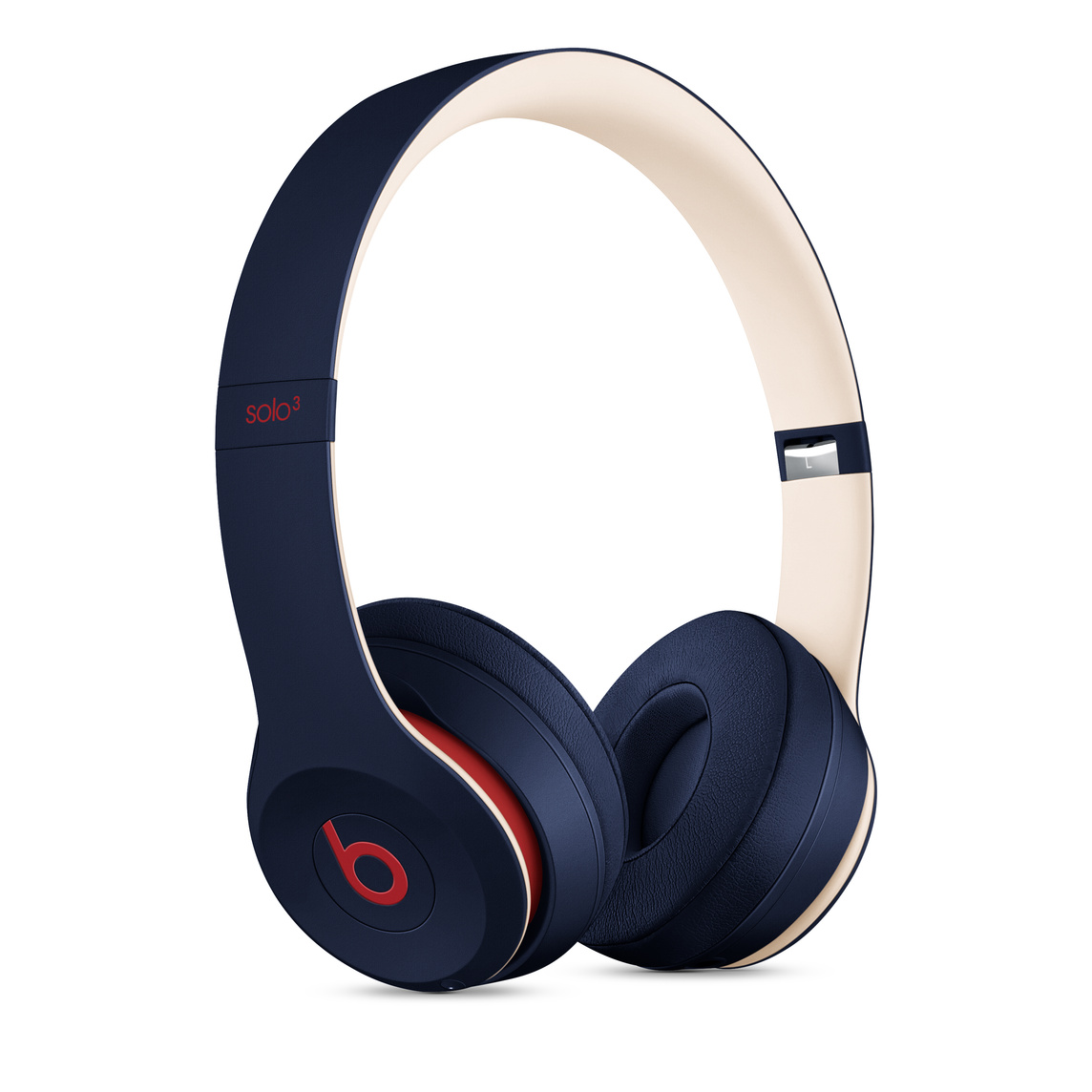 Beats Solo3 Wireless Headphones Beats Club Collection Club Navy Apple