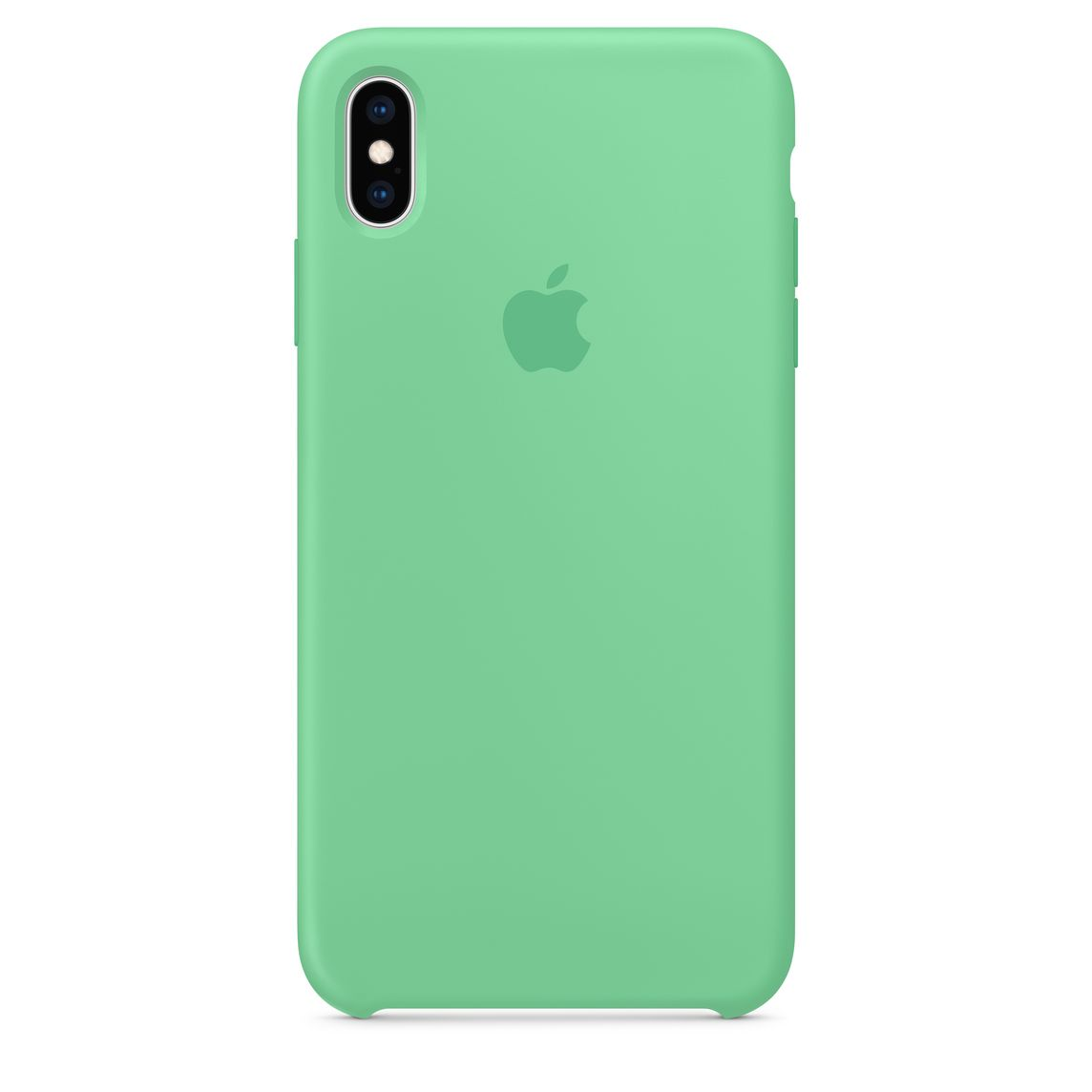 official photos fe622 7673e iPhone XS Max Silicone Case - Spearmint
