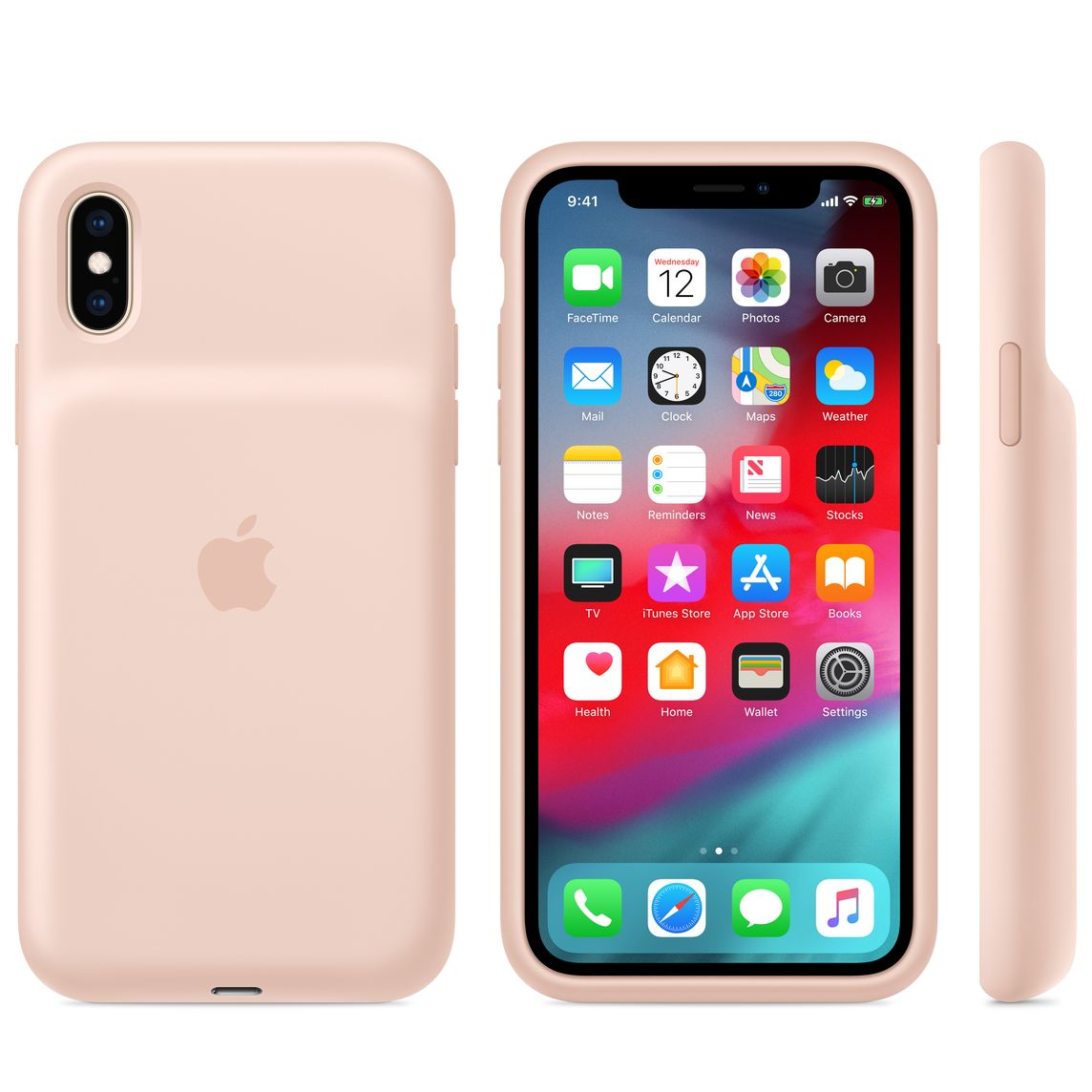 online retailer 5cb27 f1e2e iPhone XS Smart Battery Case - Pink Sand