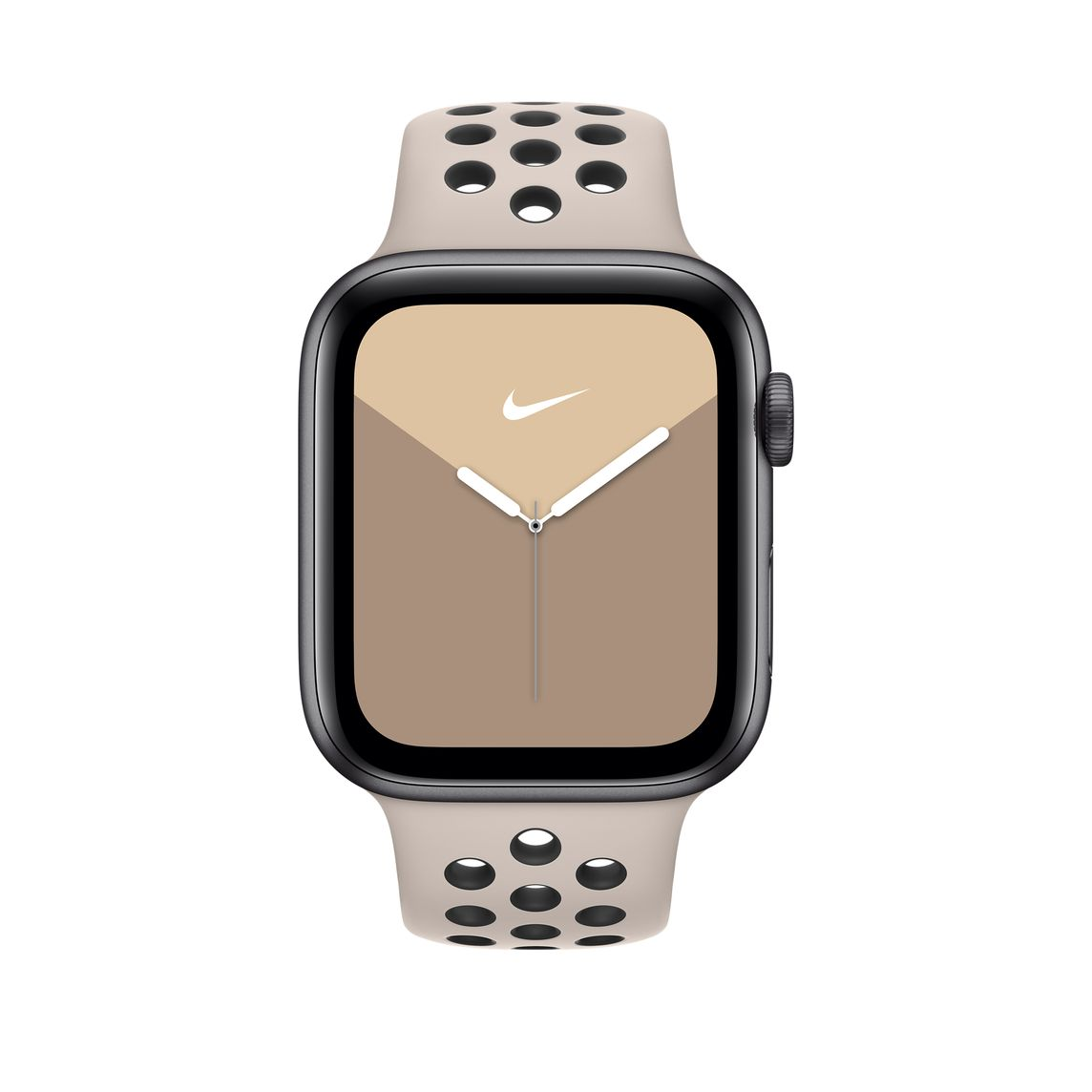 Correa loop deportiva Nike color arena del desiertovolt para caja de 44 mm