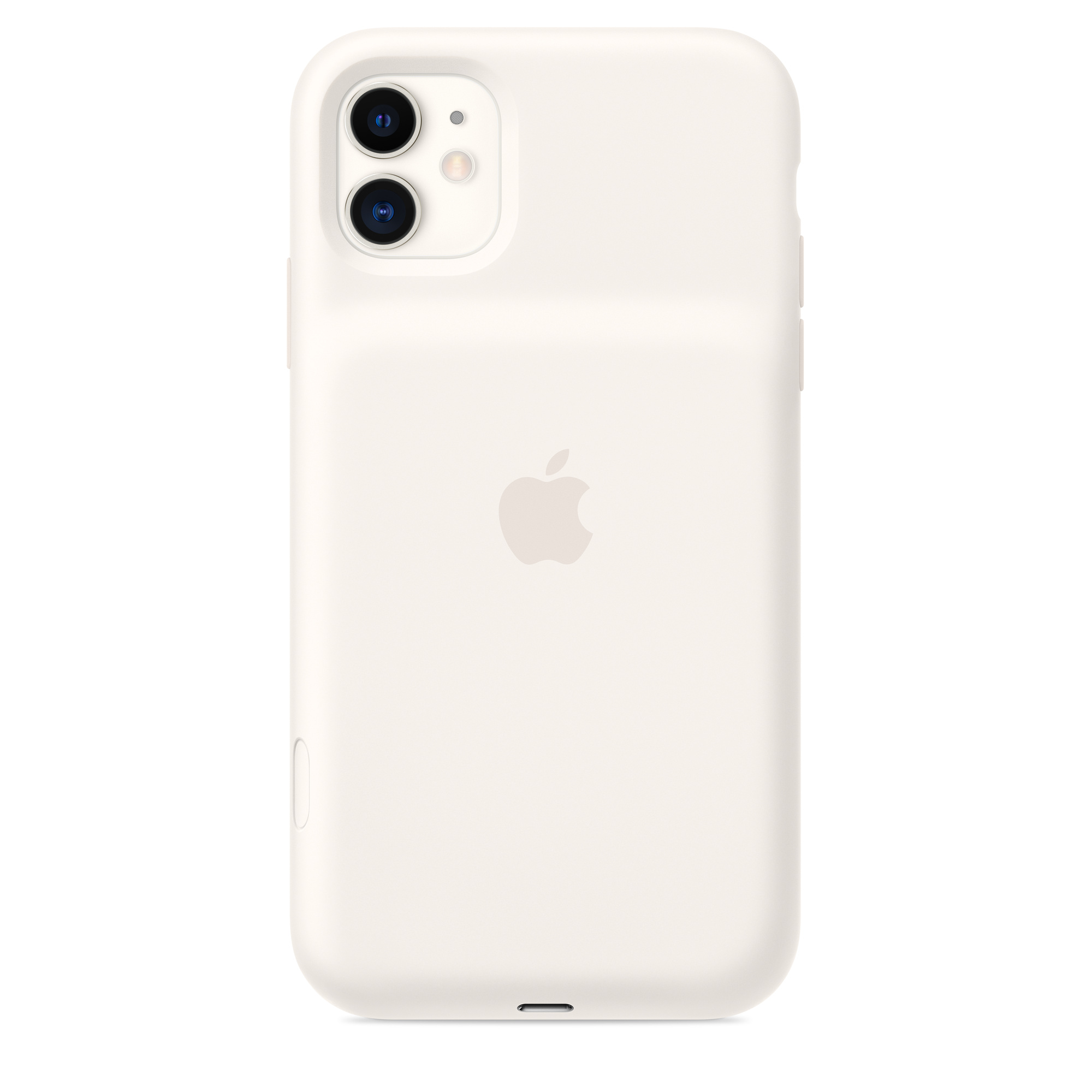 Iphone 11 Smart Battery Case Soft White Apple