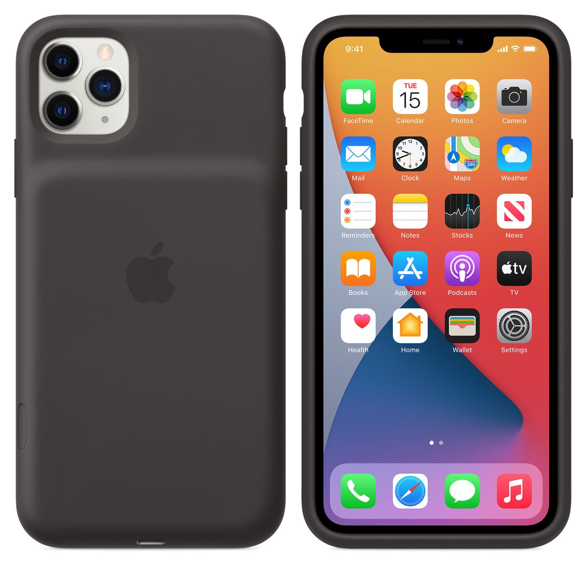 Iphone 11 Pro Max Smart Battery Case Black Apple