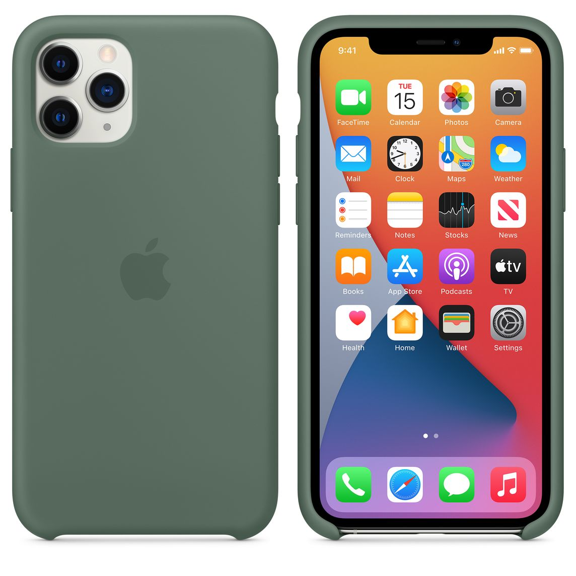 COVER per Iphone 11 / Pro Max L' ORIGINALE Silicone CUSTODIA